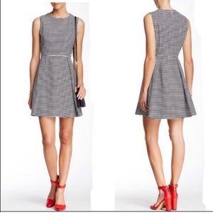 Kate Spade Saturday Striped Fit & Flare Dress